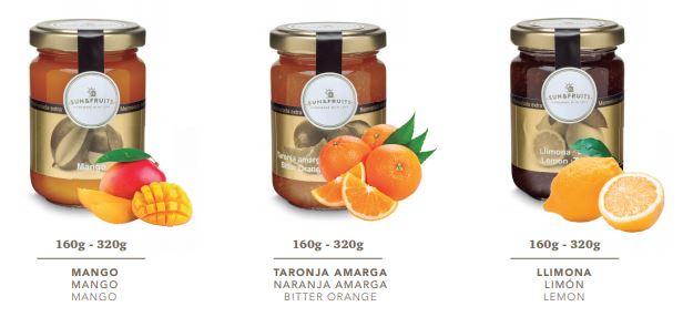Fetaosona melmelades Sun & Fruits 2