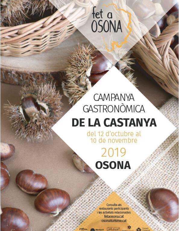 Poster 3a Campanya gastronòmica de la Castanya