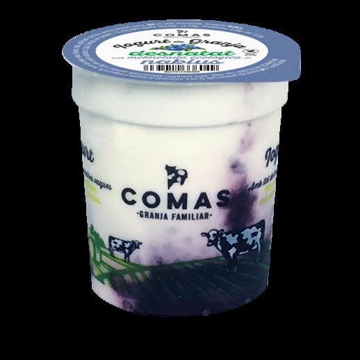 fetaosona - Granja Comas - Iogurt Nabius desnatat amb melmelada ecològica