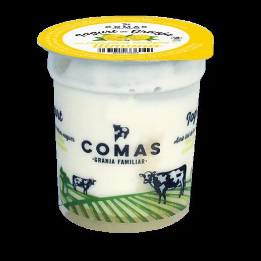 fetaosona - Granja Comas - iogurt de llimona amb melmelada ecològica