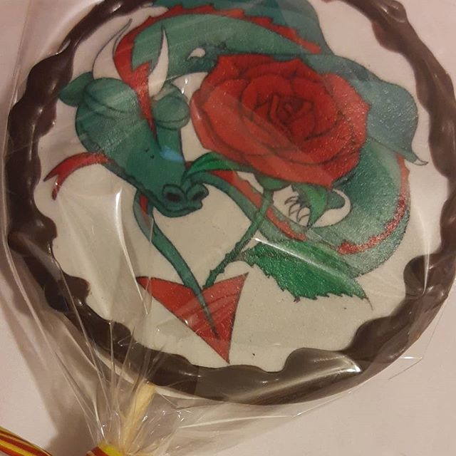 Fetaosona - Xocolato Garrapinyades - Piruletes de Sant Jordi