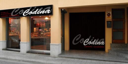 fetaosona - Carnisseria cansaladeria Codina - exterior botiga
