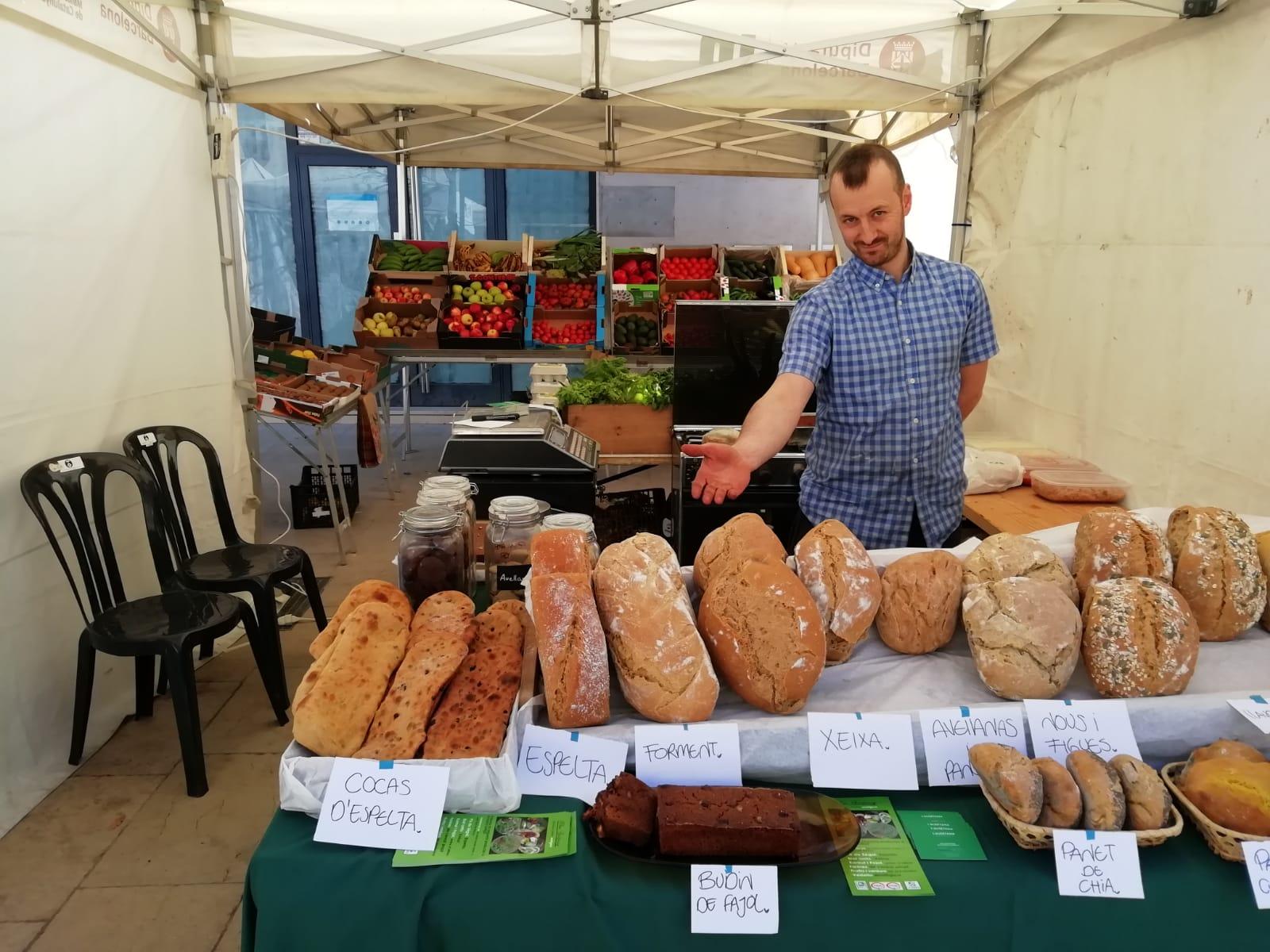Fetaosona Mas Bellpuig - una mostra dels nostres pans ecològics