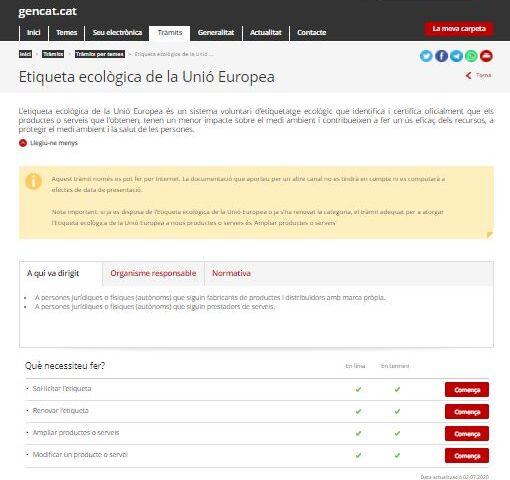 fetaosona etiqueta ecologica unio europea